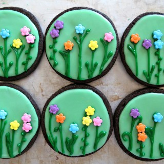 Spring Flowers/ Sunshine Iced Sugar Cookies and Military Care Package #11