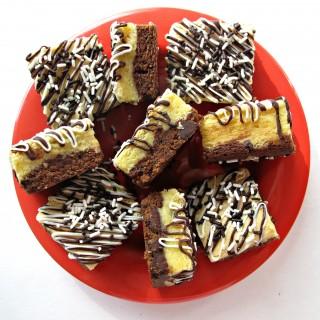 Black Bottom White-Chocolate Bars