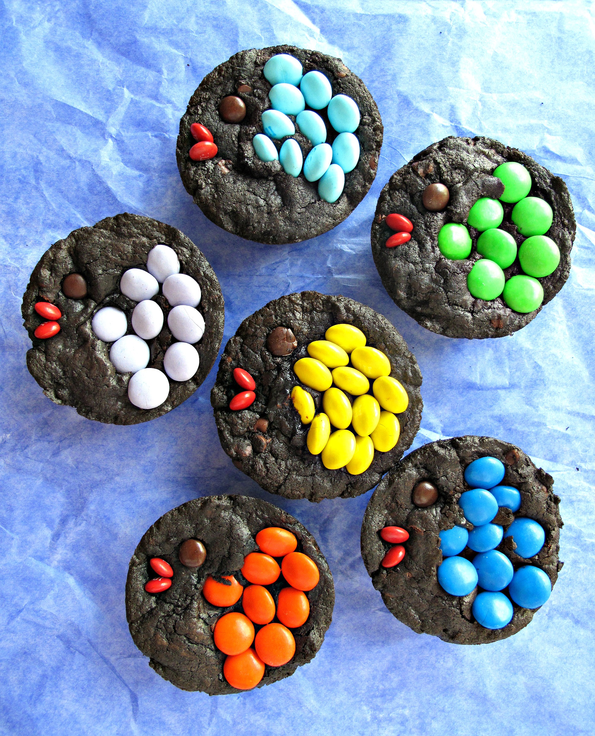 Decorated Fudge Brownies - The Monday Box
