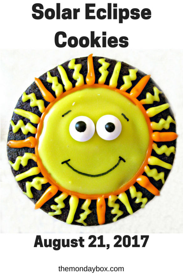 Solar Eclipse Cookies