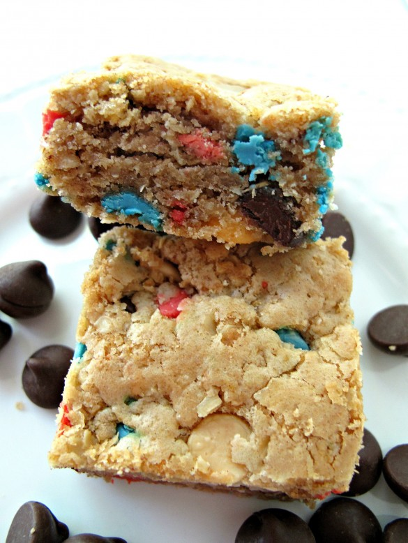 Chocolate Chip Oatmeal Cookie Bar