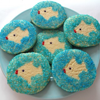 Gone Fishing Sugar Cookies   The Monday Box
