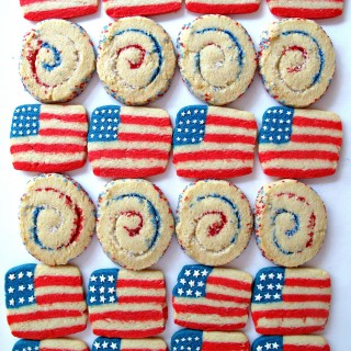 Spiral Sparkler and Flag Cookies for Military Care Package #15
