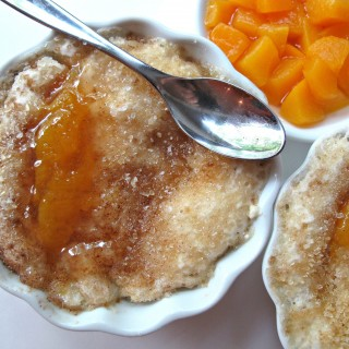 3-2-1 Peach Cobbler