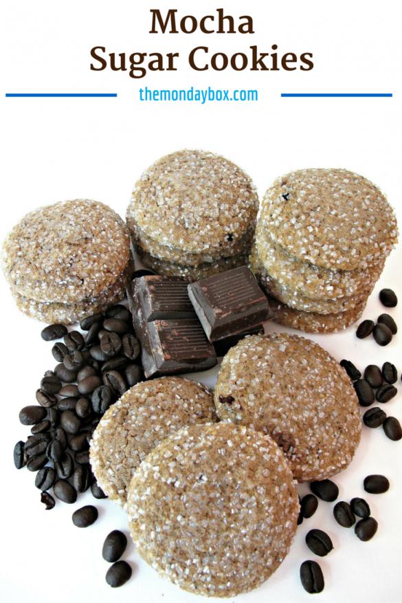 Mocha Sugar Cookies