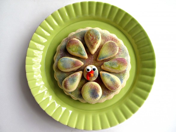 3-D Turkey Cookies