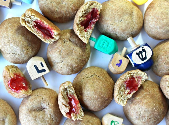 Jelly Doughnut Cookies