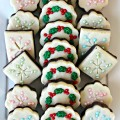 Snowflakes and Christmas Wreaths Fudge