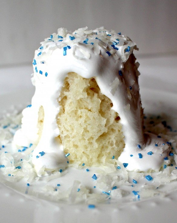 3-2-1 Coconut Snowball Cake
