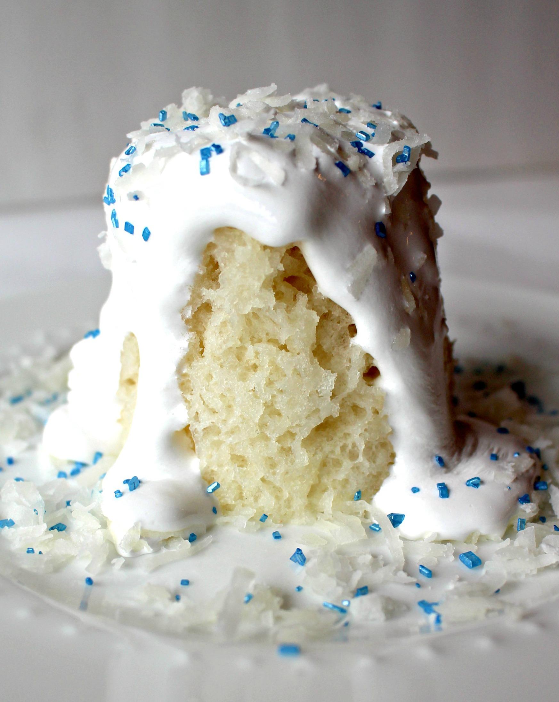 Coconut Snowball Cake