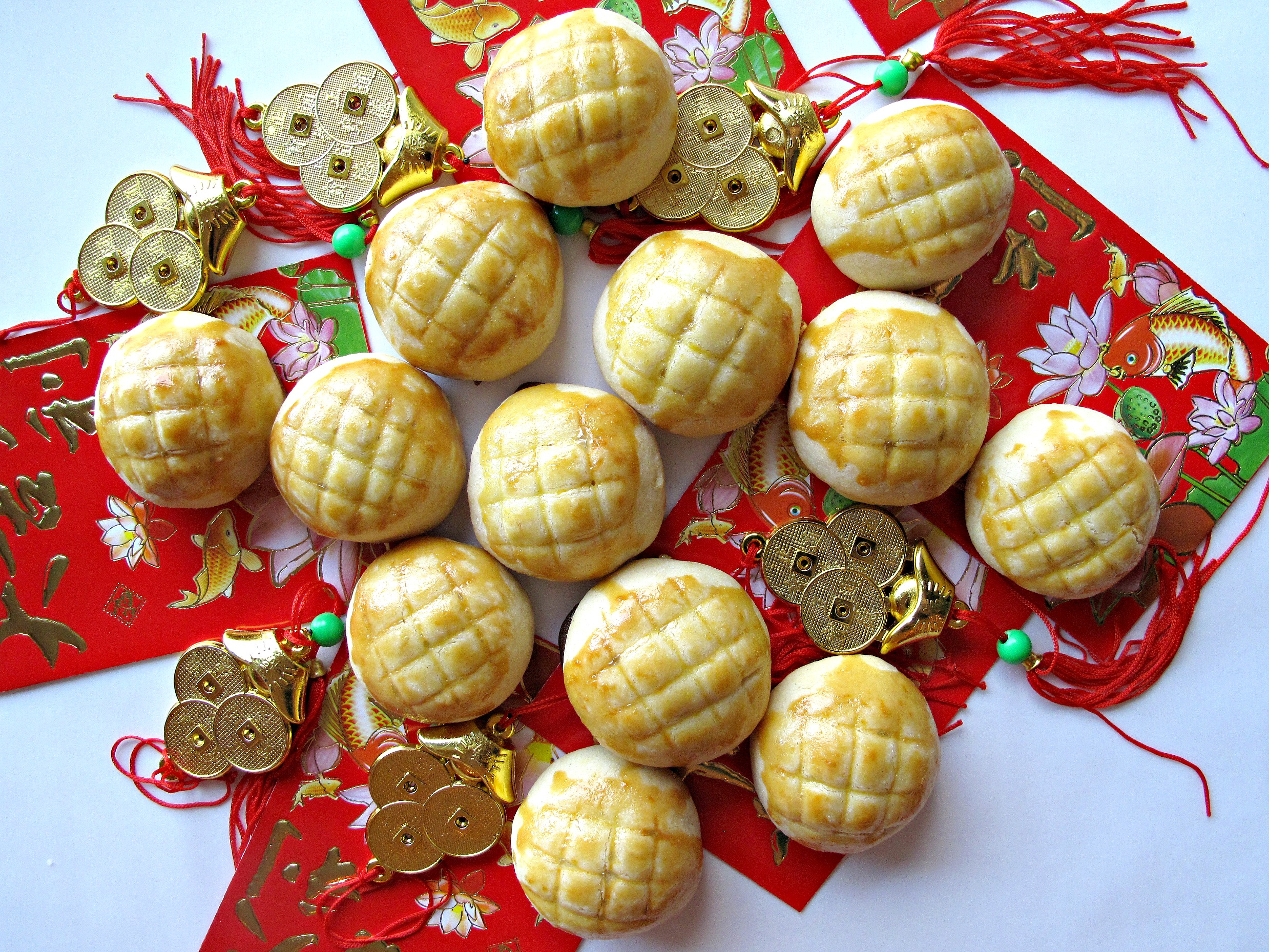 Pineapple Cookies 凤梨酥 For Chinese New Year