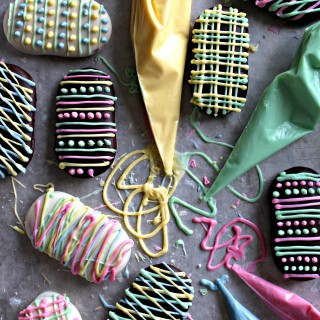 Milano Cookie Easter Eggs