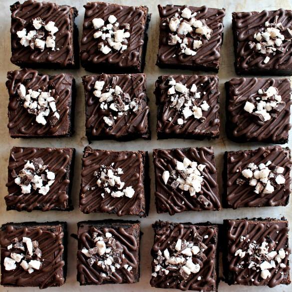Flourless Passover Fudge Brownies