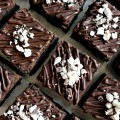 Flourless Passover Fudge Brownies