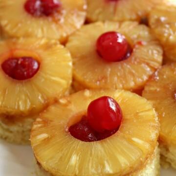 3-2-1 Pineapple Upside Down Cake