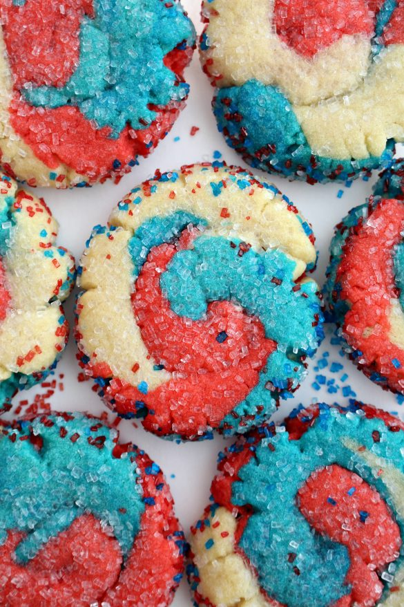 Fireworks Sugar Cookies for Military Care Package #21