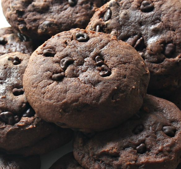 Chocolate Nibs Cookies