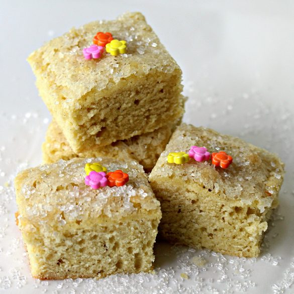 Simple Sugar Cookie Bars/ The Monday Box