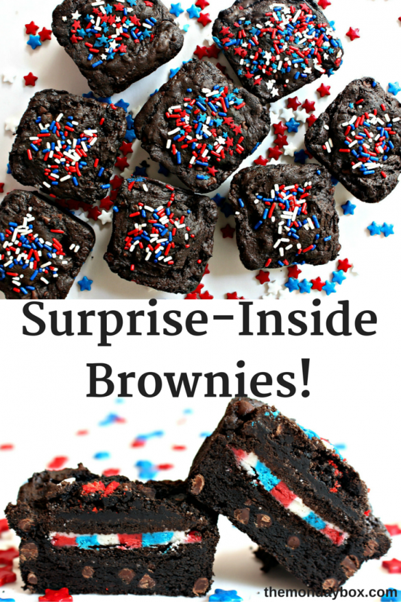 Surprise-Inside Brownies!