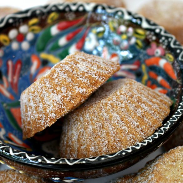 Bosnian Butter Cookies (Šape)