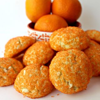 Orange Gem Cookies for Military Care Package #22