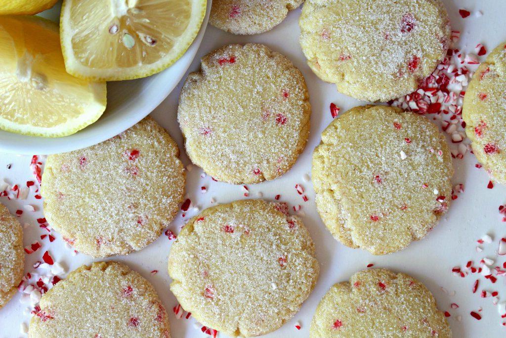 Lemon Peppermint Cooler Cookies