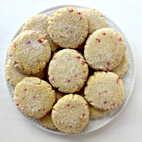 Lemon Peppermint Cooler Cookies provide a cooling rush of mint and citrus in each crunchy bite.  themondaybox.com