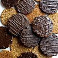 Chocolate Covered Hobnobs Oat Cookies