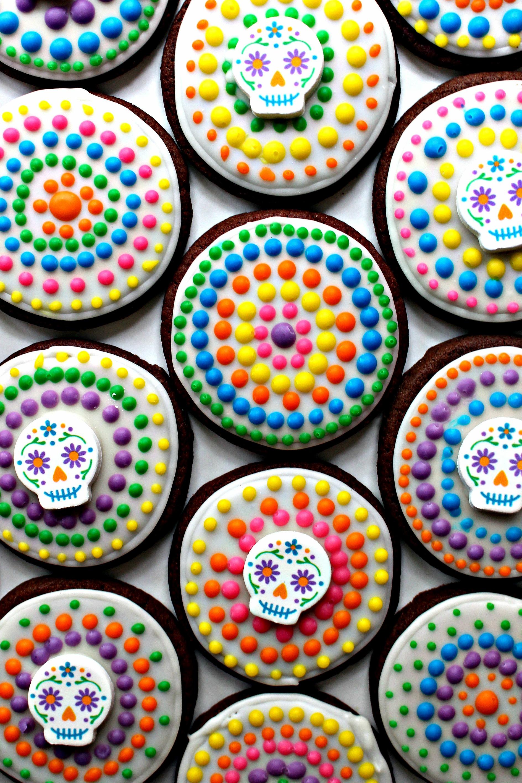 dia de los muertos sugar cookies for military care package 25 the