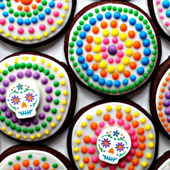 Dia de los Muertos Sugar Cookies and Military Care Package #25