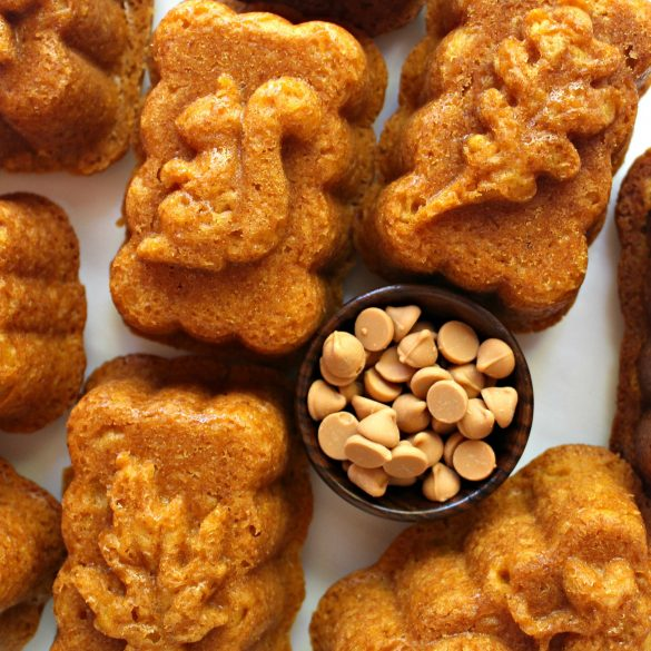 Pumpkin Butterscotch Cakes