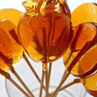 Honey Lollipops for Licking, Stirring, and Gifting, honey