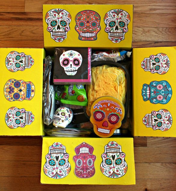Dia de los Muertos Sugar Cookies and Military Care Package #25