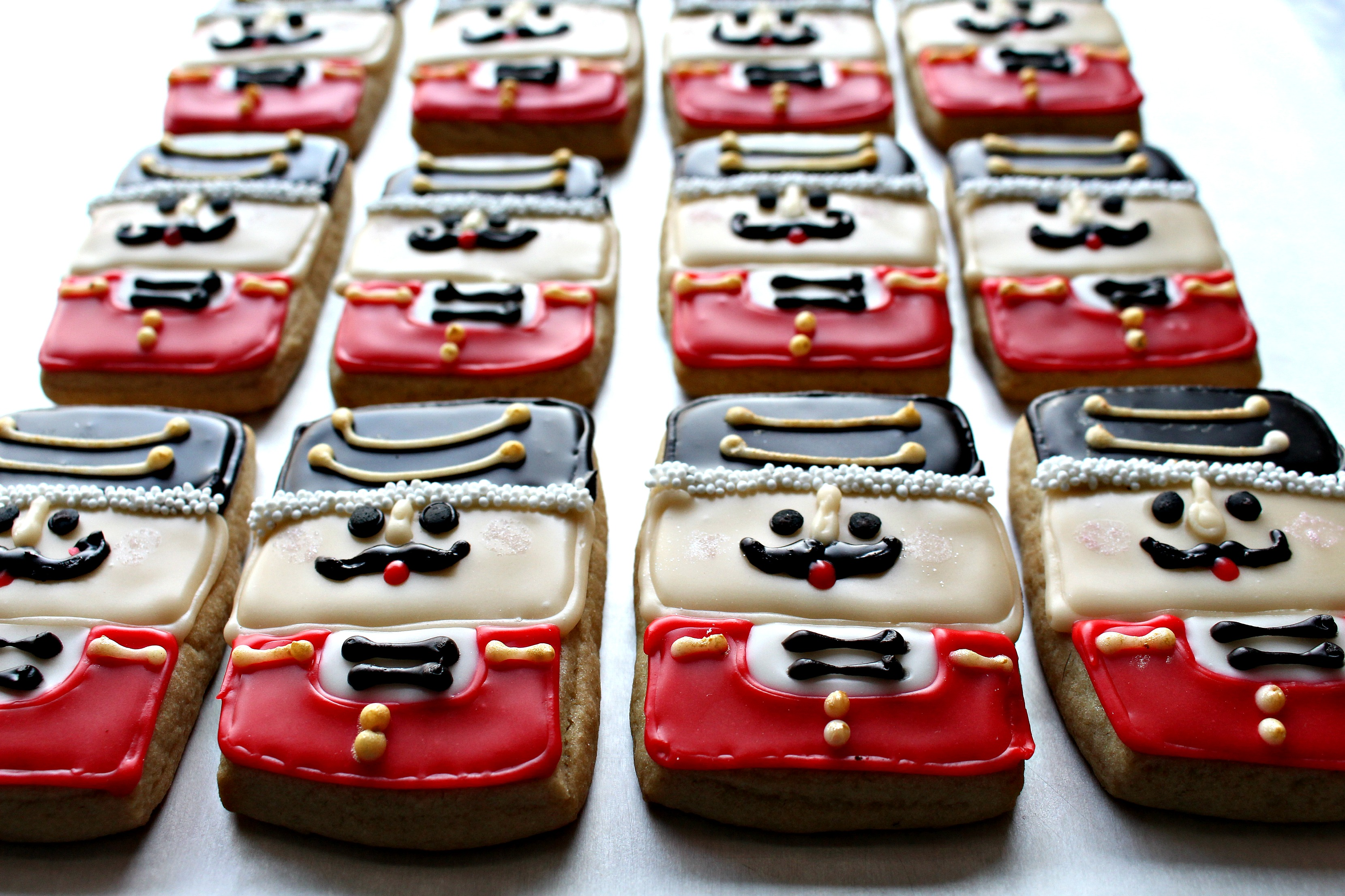Nutcracker Sugar Cookies For Military Care Package 27