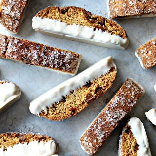 Cinnamon Chip Biscotti (Time Saver Recipe)