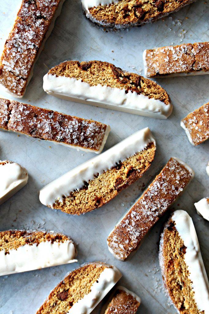 Cinnamon Chip Biscotti (Time Saver Recipe)
