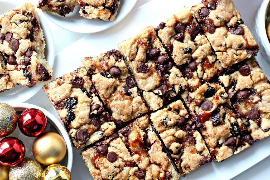 Chocolate Covered Cherry Bars (Time Saver Recipe)