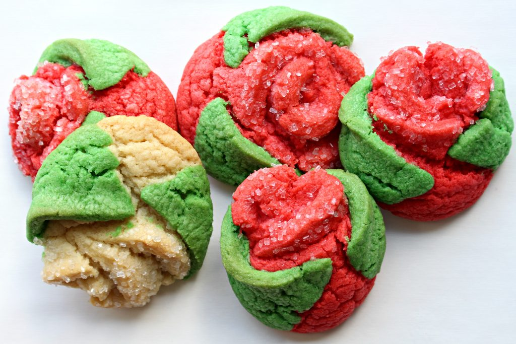 Sugar Cookie Roses (Time Saver Recipe)