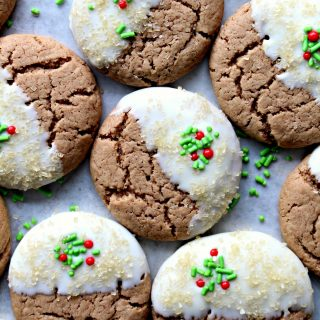Gingerbread Spice Cookies (Time Saver Recipe)