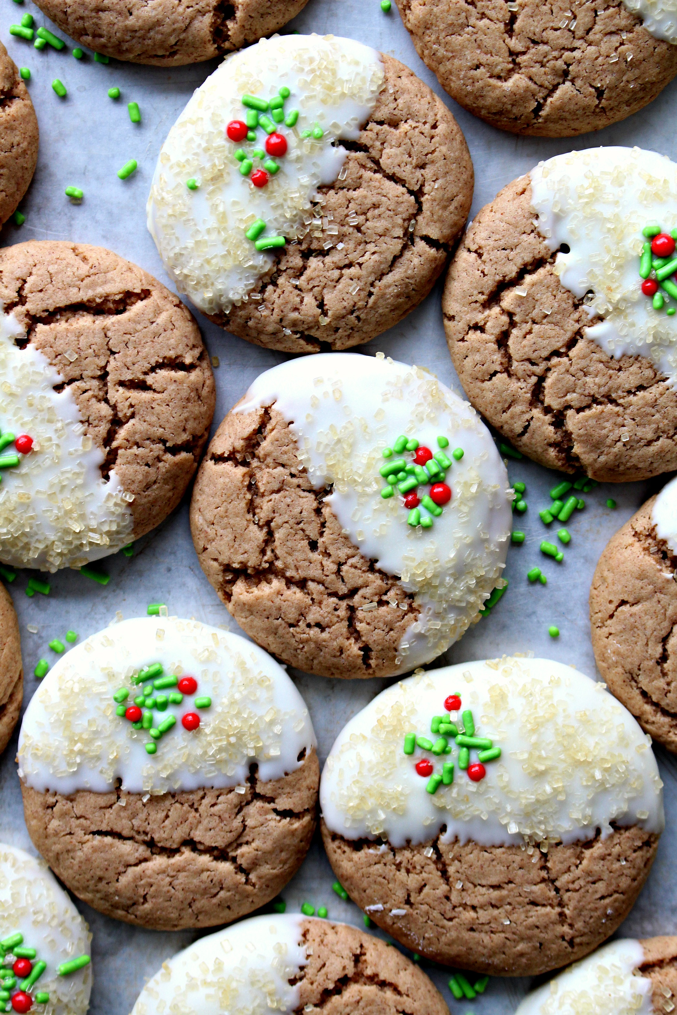 Watch Holiday Ginger Spice Cookies video