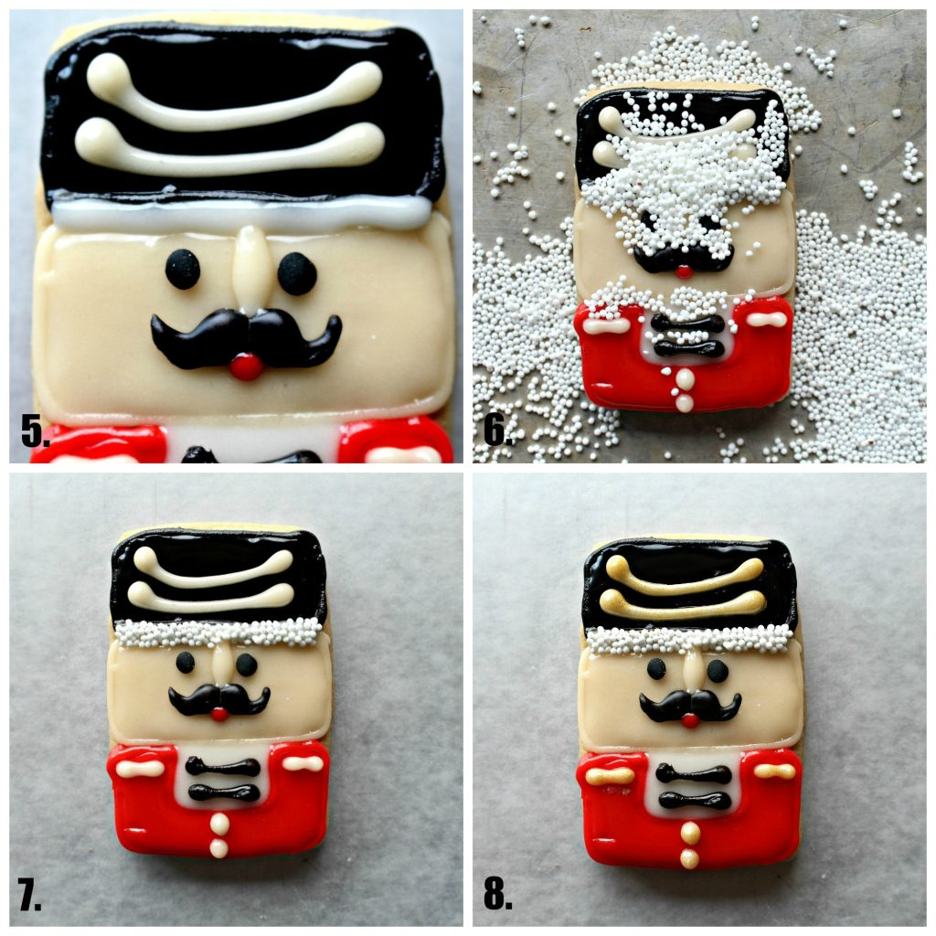 Nutcracker Sugar Cookies for Military Care Package #27