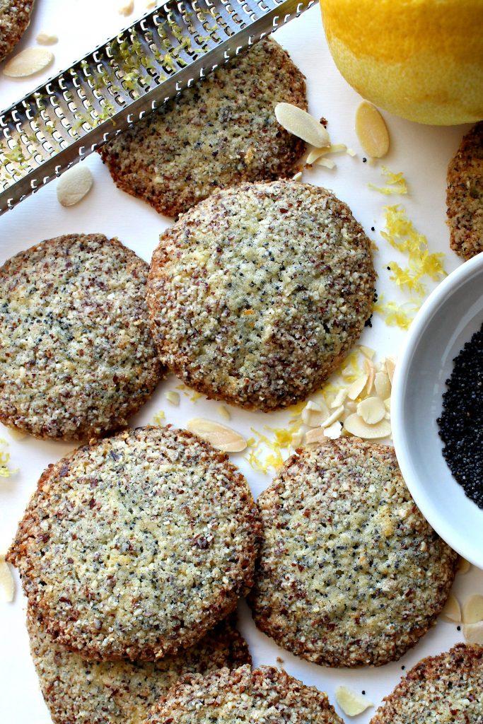 Crunchy Lemon Poppy Seed Cookies