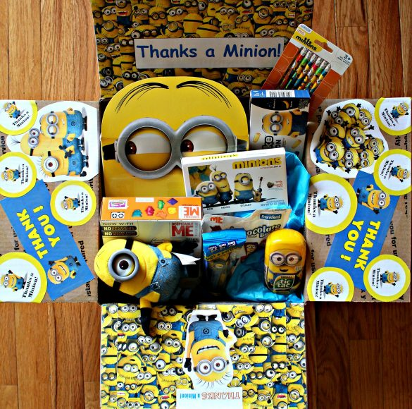 Minion theme military care package #28