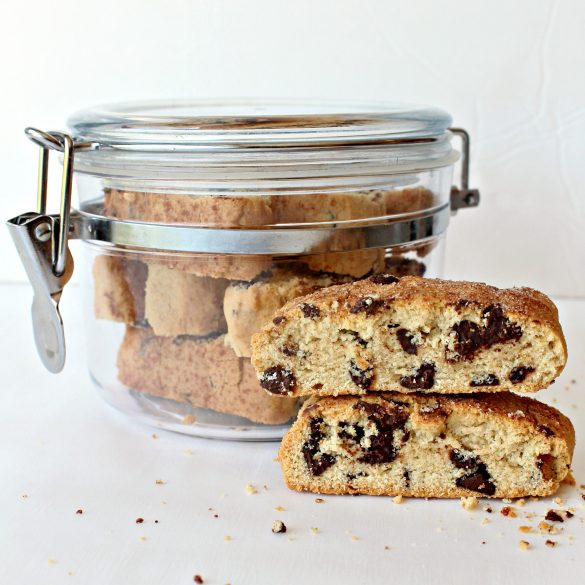 The World's Best Passover Chocolate Chip Mandel Bread