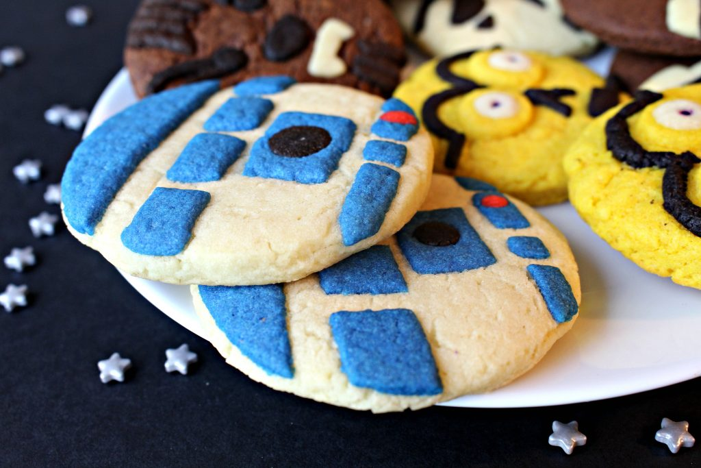 Star Wars Sugar Cookies for Military Care Package #31