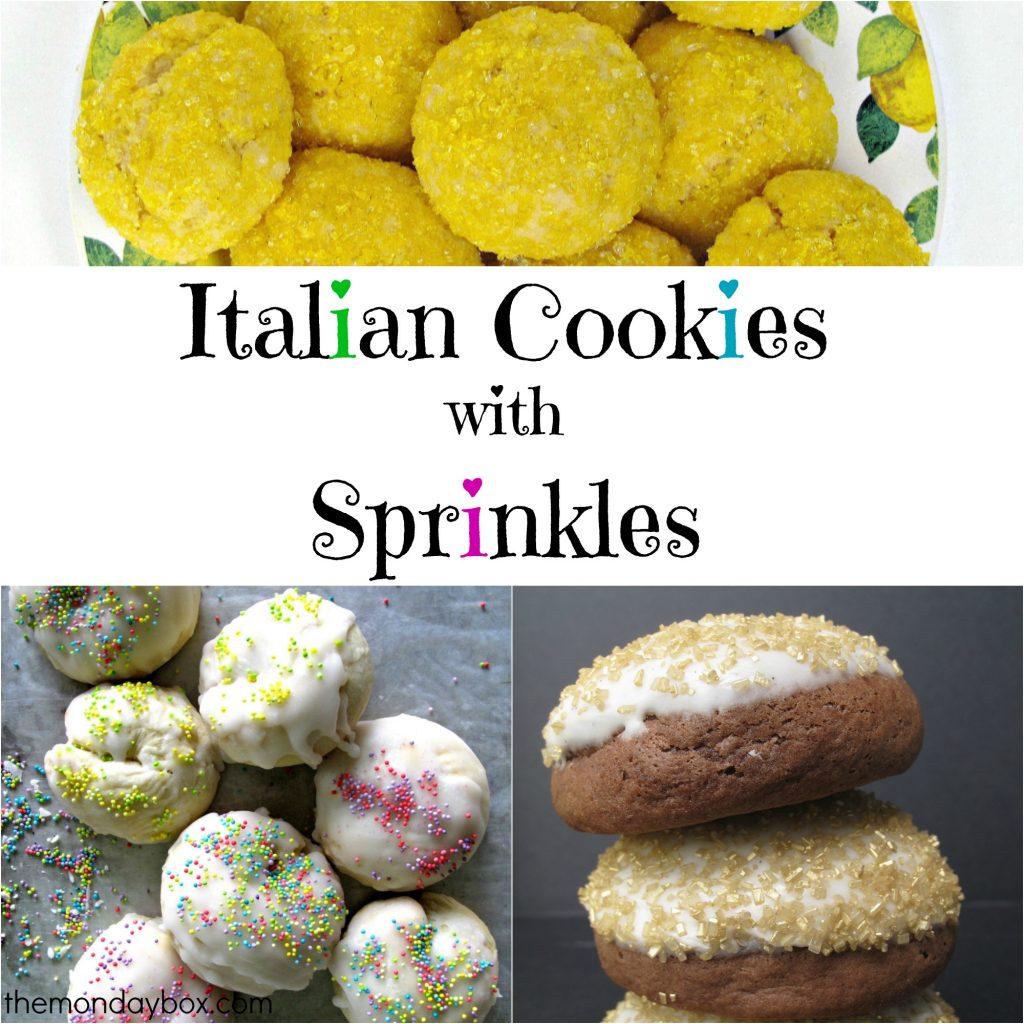 Italian Cookies with Sprinkles