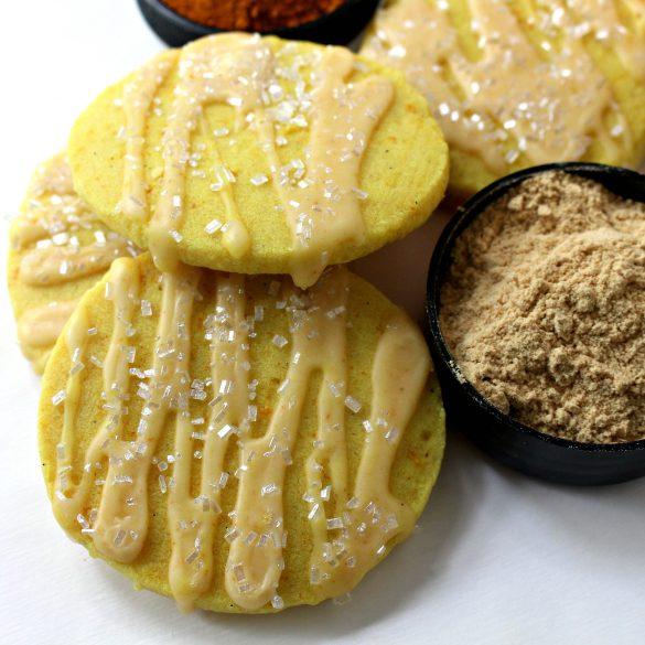 Orange Ginger Turmeric Cookies