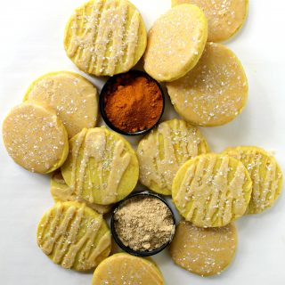 Orange Ginger Turmeric Cookies