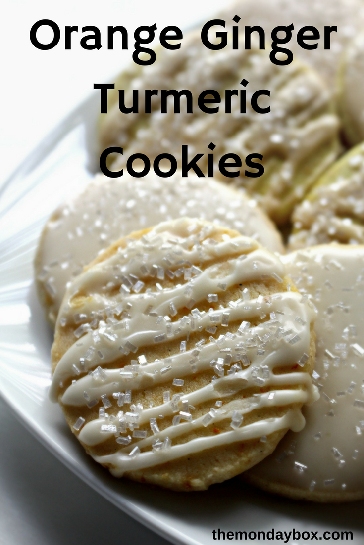 Orange Ginger Turmeric Cookies taste like sunshine. Ginger gives these ...