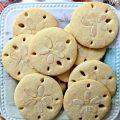 Almond Sand Dollar Cookies